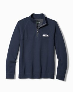 NFL Fairway Reversible Half-Zip Sweatshirt