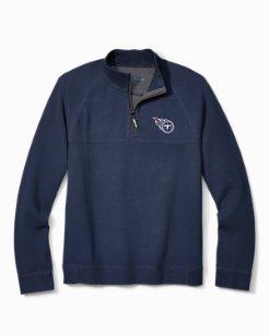NFL Fairway Reversible Half-Zip Sweatshirt