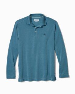 Long-Sleeve Coastal Crest IslandZone® Polo