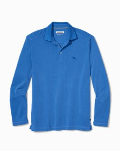 Long-Sleeve Coastal Crest IslandZone® Polo