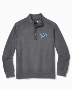 NFL Fleecebender Snap Collar Sweatshirt