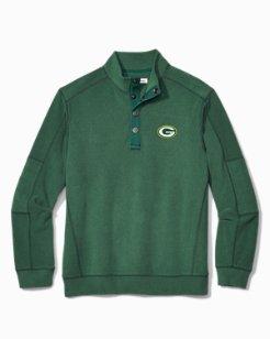 NFL Fleecebender Snap Collar Sweatshirt