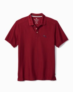 Limited Edition Poinsettia Palms Emfielder Polo