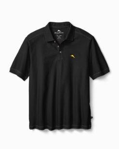 Black Personalized Emfielder Polo