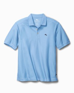 Chambray Blue Personalized Emfielder Polo