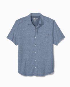 Bodega Beach IslandZone® Knit Camp Shirt