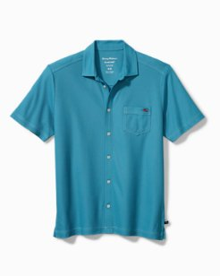 Emfielder IslandZone® Knit Camp Shirt