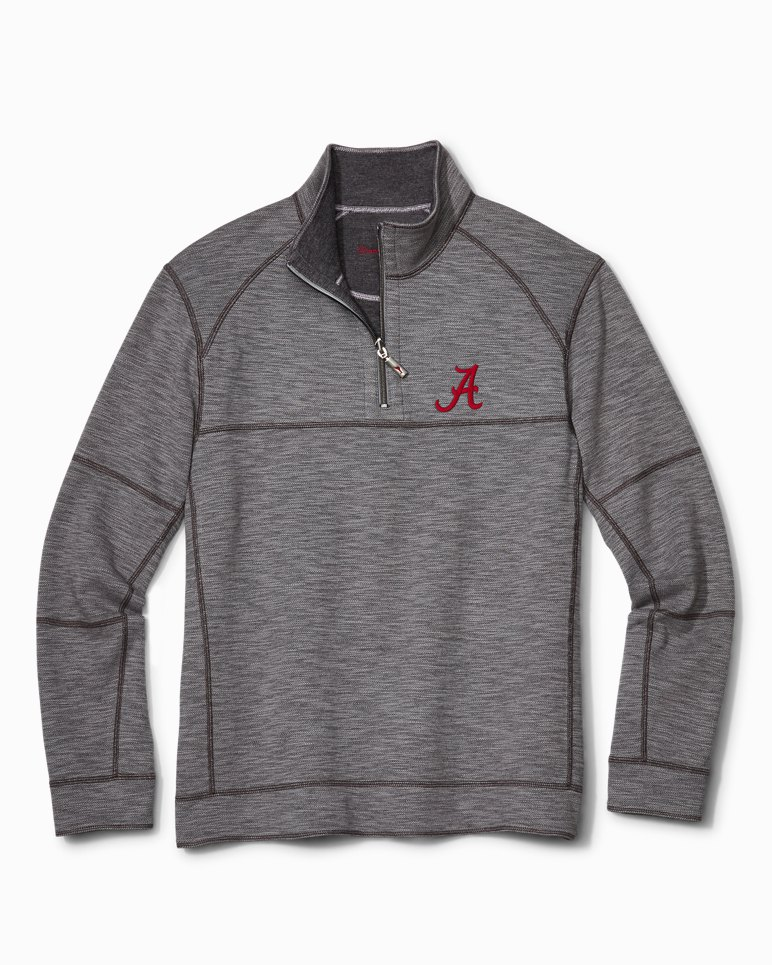 Main Image for Collegiate Sandbar Slub Reversible Half-Zip Sweater