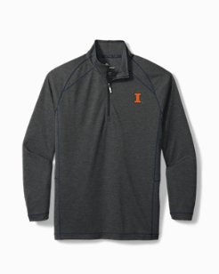 Collegiate Final Score Half-Zip Sweatshirt