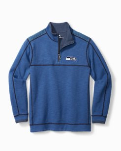 NFL Sandbar Reversible Half-Zip Sweatshirt
