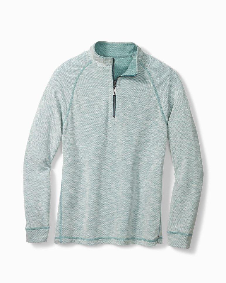 Main Image for Barrier Beach Reversible Half-Zip Sweatshirt