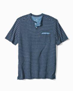Deco Indigo Henley T-Shirt