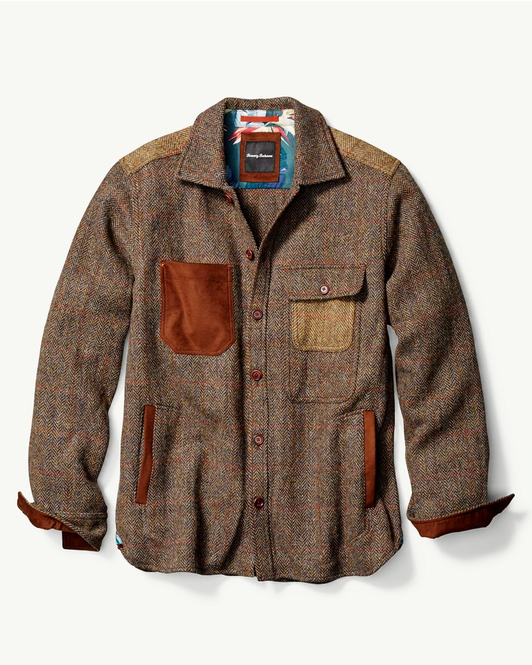 Harris Tweed Shirt Jacket