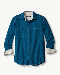 Sea Glass Flannel Shirt