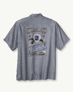 MLB® Royals Ocean Oxford Camp Shirt