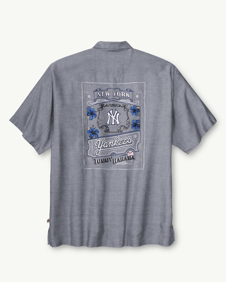 MLB® Yankees Ocean Oxford Camp Shirt