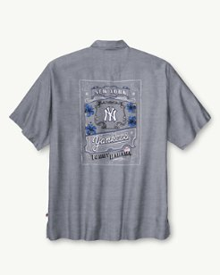 MLB® Yankees Ocean Oxford Camp Shirt