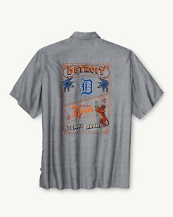 MLB® Tigers Ocean Oxford Camp Shirt