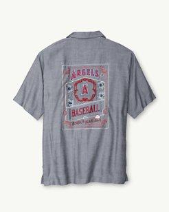 MLB® Angels Ocean Oxford Camp Shirt