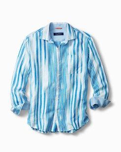 Brush Stroke Breezer Linen Shirt