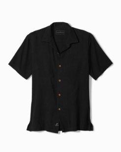 Standard Fit Luau Floral Camp Shirt
