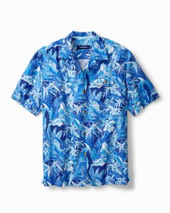 Standard Fit Oasis Blooms IslandZone® Camp Shirt