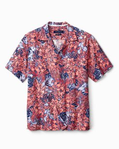 Standard Fit Greek Batik IslandZone® Camp Shirt