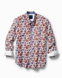 Printed Foulard Shirt