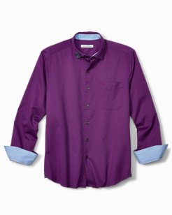 Oasis Twill Long-Sleeve Stretch Shirt