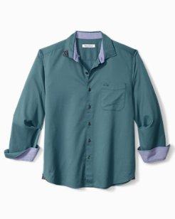 Oasis Twill Long-Sleeve Stretch Shirt