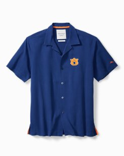 Collegiate Catalina Twill Camp Shirt