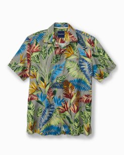 Standard Fit Taza Fronds IslandZone® Camp Shirt