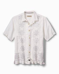 Standard Fit Tangier Tiles Camp Shirt