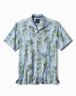 Standard Fit Cascading Palms IslandZone® Camp Shirt