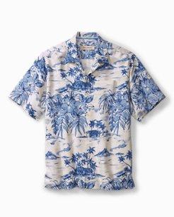 Standard Fit Destination Hawaii Camp Shirt