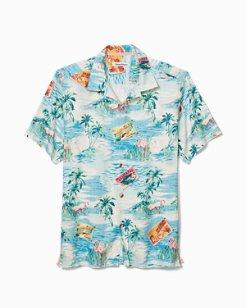Standard Fit Destination Florida Camp Shirt