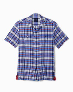 Standard Fit Larache Plaid Camp Shirt