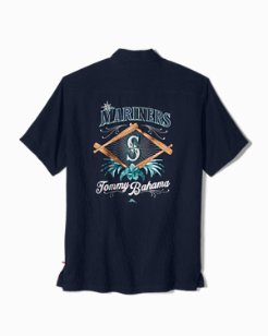 MLB® Mariners Batting Paradise Camp Shirt