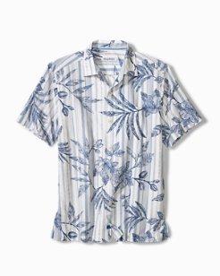 Indigo Vines Camp Shirt