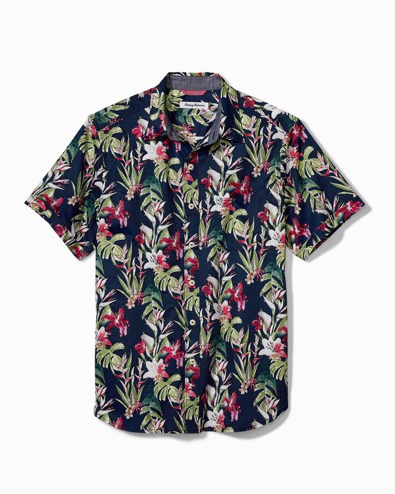 Main Image for San Matera Gardens Stretch-Cotton Camp Shirt