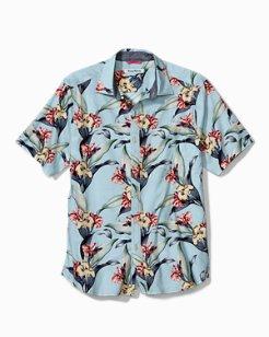 Cape Floral Stretch-Cotton Camp Shirt