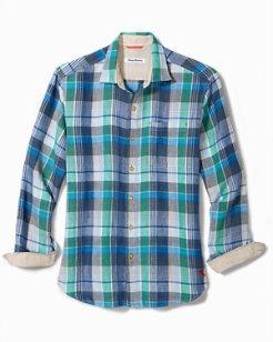 Vero Beach Madras Linen Shirt