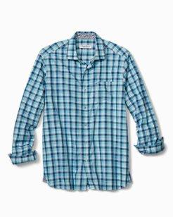 Atlantic Tides Plaid Long-Sleeve Shirt