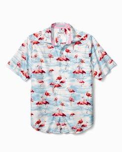 Delano Flamingo Camp Shirt