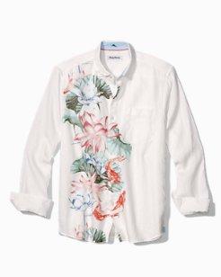 Koi West Linen Camp Shirt