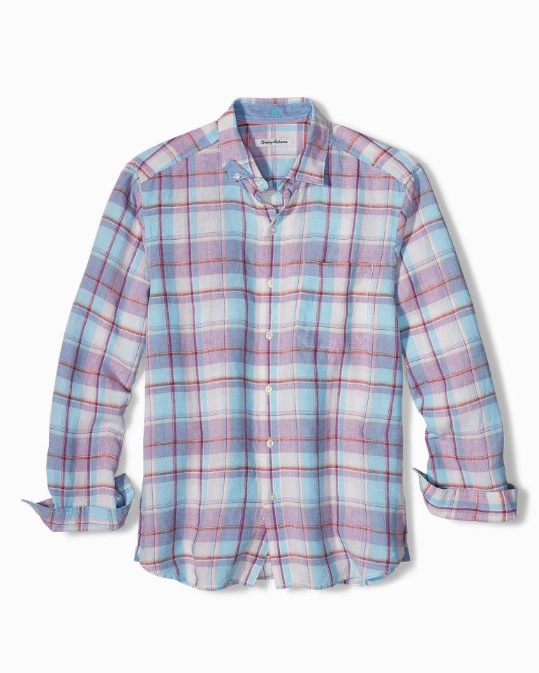 Main Image for Plaid Lauderdale Linen Shirt