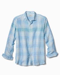Malahina Plaid Linen Shirt