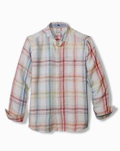 Summerland Plaid Linen Shirt