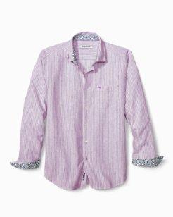 Bungalow Stripe IslandZone® Linen Shirt