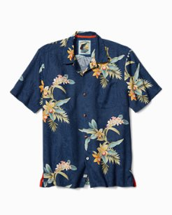 Open Water Blooms Camp Shirt